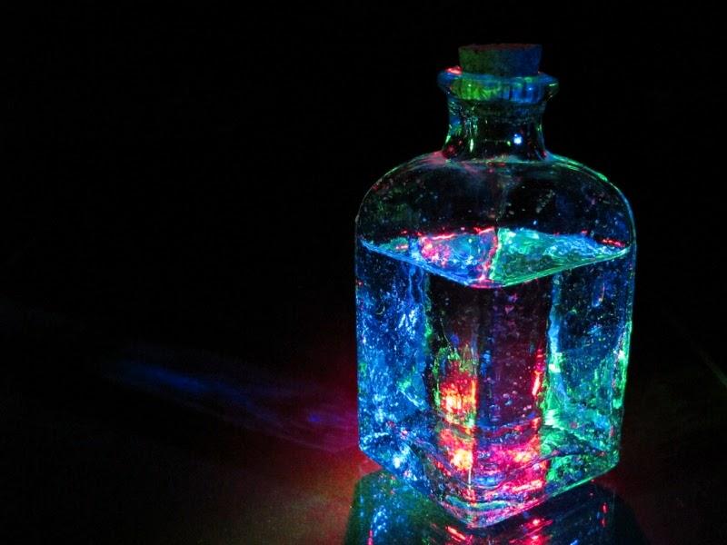 Elixir de cristales cargados con Reiki