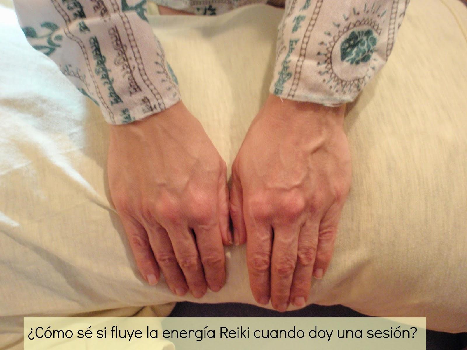 ¿Cómo sé si fluye la energía cuando doy una sesión de Reiki?