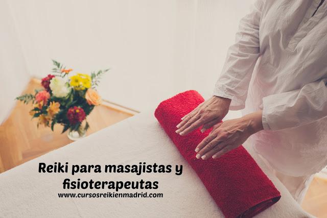 Reiki para masajistas y fisioterapeutas