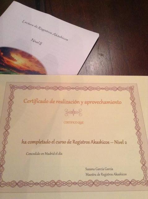 Curso segundo nivel Registros Akashicos en Madrid
