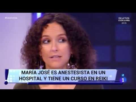 Reiki en la Universidad Rey Juan Carlos y en Televisión Española